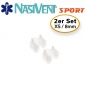 Preview: Nasivent Sport Snow White 2 pack Size XS- improves nasal breathing - optimizes oxygen supply during sport, regeneration and sleep - Limited Edition