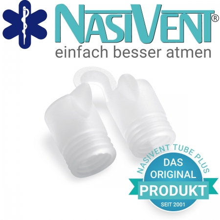 Nasivent Tube Plus 2 Pack (Size M/10mm) (Neues Model)