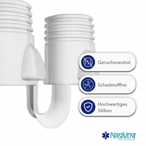 Nasivent Tube Plus 2 Pack (Size XL) (New Model)